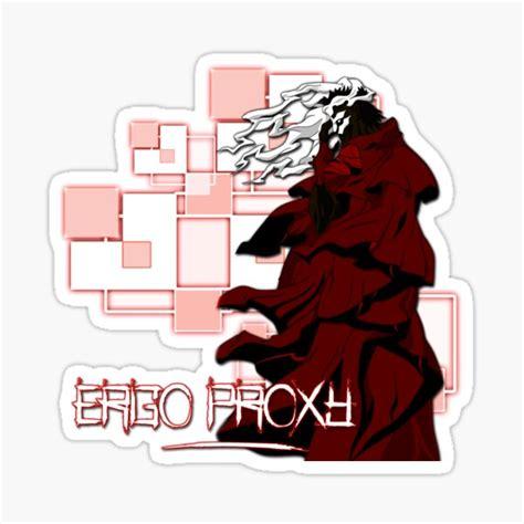 ergo proxy stickers redbubble