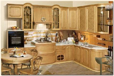 cuisine en bois cuisine moderne blanche meubles rangement