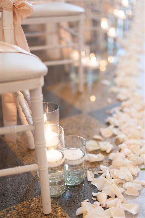 Aisle Lined With Rose Petals Wedding Ideas Elizabeth