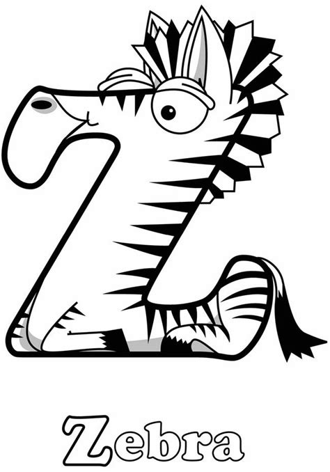 zebra coloring page dover publications    zebra pinterest coloring books