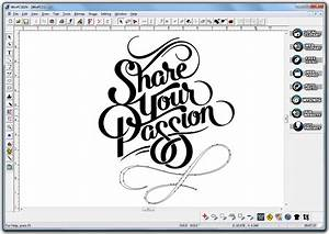 Winpcsign cut a dedicated sign and lettering software for Vinyl lettering software