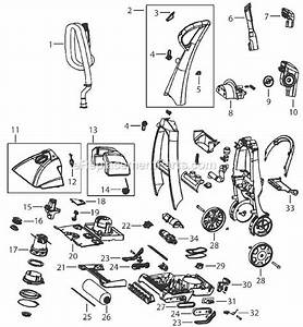 Bissell E600 Parts List And Diagram   Ereplacementparts Com