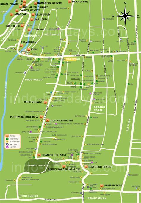 ubud map gusti bali tours