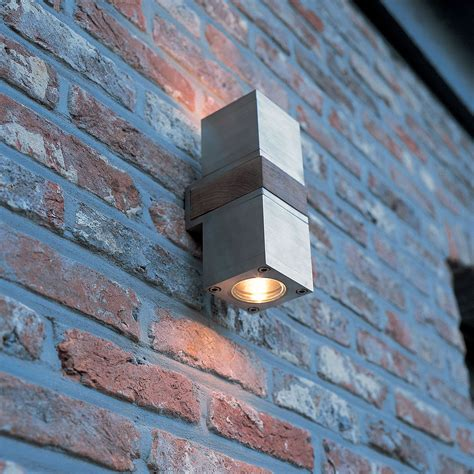 outdoor lighting q bic up exterior wall sconce by