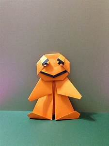 Origami Ginger Bread Man