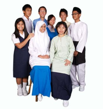 dunia cmelor baju sekolah bajet