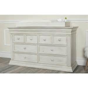baby cache vienna 6 drawer dresser antique white