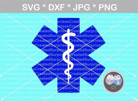 Here you will find cut files for vinyl cutting machines, ai, eps, svg, dxf, dwg along with tutorials and tips for your vinyl cutting hobby or business! EMS, Star of Life, Medical, digital download, SVG, DXF ...