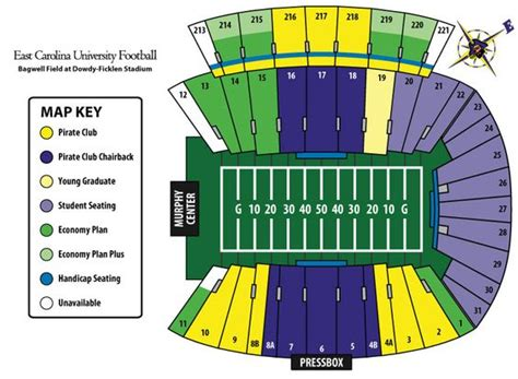 ecu football stadium seating chart google search stadiums   sat  pinterest