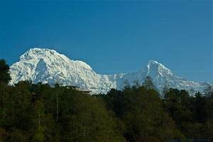 Annapurna South and Hiunchuli Mountain | Pictures of ...
