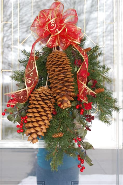 large pine cone craft christmas pinterest crafts