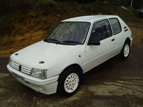 peugeot cars for sale in peugeot 205 1 9 scholarhship rally cars for sale at