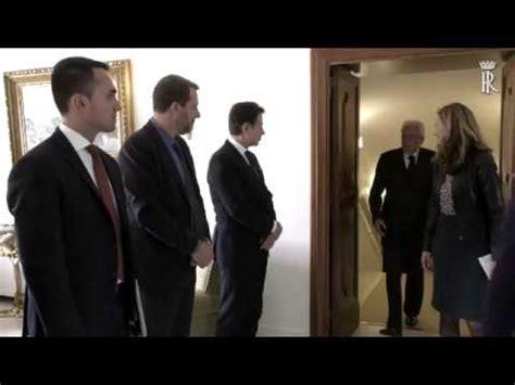 Prossimo Consiglio Dei Ministri by Incontro Con Il Presidente Consiglio E Alcuni Ministri