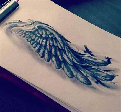 Tattoo Wing Tattoos Feather Angel Wings Sleeve