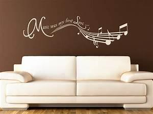 Wandtattoo Auf Rechnung : wandtattoo music wandtattoos music was my first love von ~ Themetempest.com Abrechnung