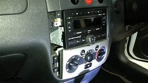 How To Remove The Radio From A Holden Barina