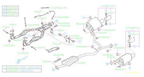 Subaru Outback Limited Flange Bolt Pilot Exhaust