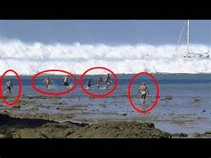 TOP 3 Tsunami Caught On Camera | Biggest Tsunami in the ...