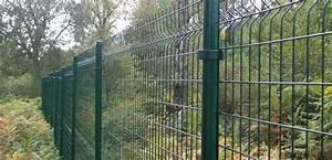 Panneau De Grillage Rigide : jardin les briconautes ~ Dailycaller-alerts.com Idées de Décoration