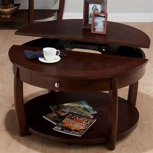 coffee table large round wooden coffee table with drawers With large wooden coffee table with drawers