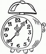 Clock Coloring Alarm Epic Sheets Visit Clocks Printable Illustration Coloringpagesfortoddlers sketch template