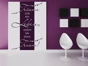 Welche Tapete Passt In Die Küche : wandbanner tr ume nicht dein leben ~ Sanjose-hotels-ca.com Haus und Dekorationen