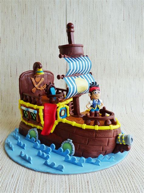 jake   neverland pirates ship cakecentralcom
