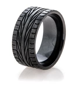 Black Goodyear Nascar Tire Tread Ring  Titaniumbuzz. Lotr Dwarf Rings. Syracuse Rings. Vintage Small Wedding Engagement Rings. Copper Pipe Rings. Different Style Engagement Rings. Pewter Rings. Adventure Time Rings. Essence Rings