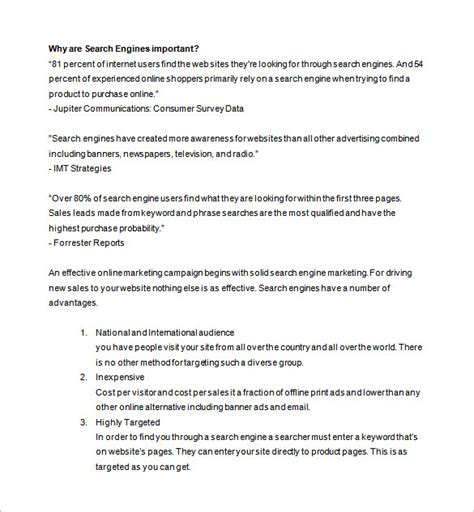 marketing proposal template   sample