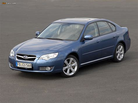 Images of Subaru Legacy 3.0R 2006–09 (1024x768)