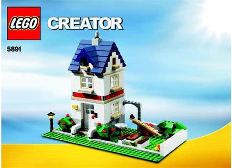 Lego Apple Tree House Instructions 5891, Creator