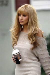 Christina Aguilera Hair Clor Hair Colar And Cut Style