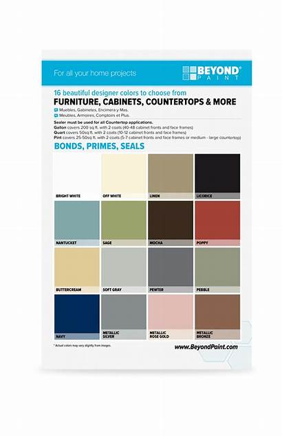 Beyond Paint Card Colors Makeover Rv Cards