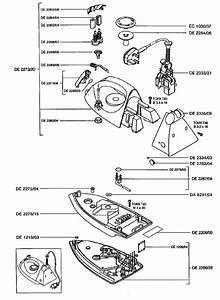 Rowenta De333 Small Appliance Spares