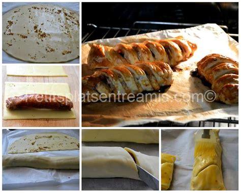 saucisse de toulouse feuilletee au fromage petits plats