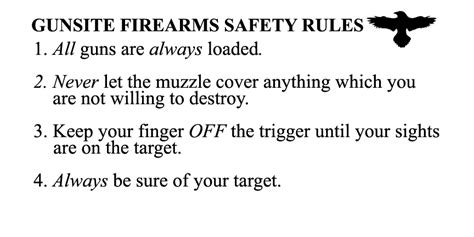 The Rules Of Gun Safety
