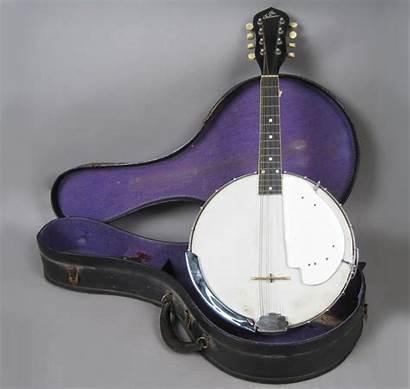 Instruments Musical Antique Banjo String Rare Antiques
