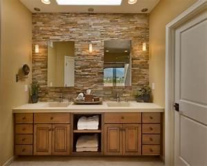 salle de bain pierre une elegance naturelle et authentique With salle de bain design avec salle de bain en pierre