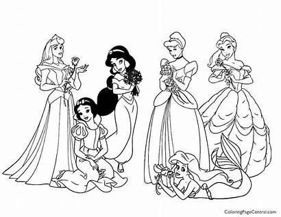 Disney Coloring Princesses