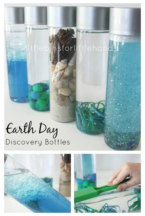 earth day discovery bottles science sensory bottles 708 | Earth Day Discovery Bottles Preschool Sensory Science Bottles 688x1024
