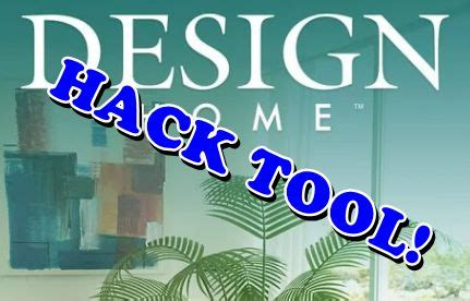 design home game cheats for android and ios 999999999