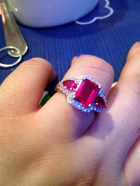 my ruby engagement ring weddingbee photo gallery