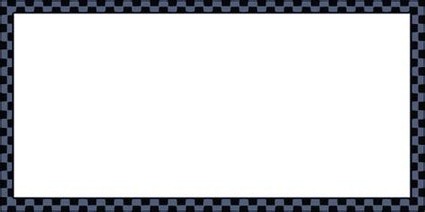 worldlabel  border dark blue black checkered  clip art