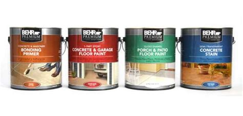 Behr Garage Floor Paint Sealer by Behr Garage Floor Coating And Paint For Garage Repair
