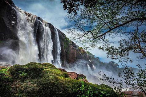 best tourist spot of valparai athirapally falls thrissur athirapally falls photos and