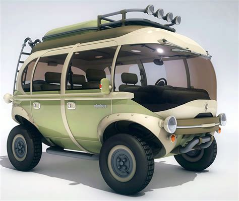 E Car by Eco Friendly Hippy Of The Future The Nimbus E Car