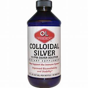 Olympian Labs Inc., Colloidal Silver, 8 fl oz (237 ml ...