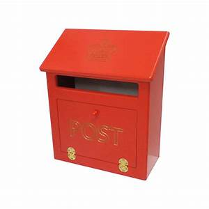 Traditional Post Box For Care Homes  U0026 Dementia Use