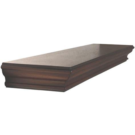 allen roth shelf shop allen roth 36 in w x 2 88 in h x 7 88 in d wood