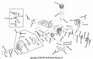 Homelite Ry30020b 30cc String Trimmer Parts Diagram For